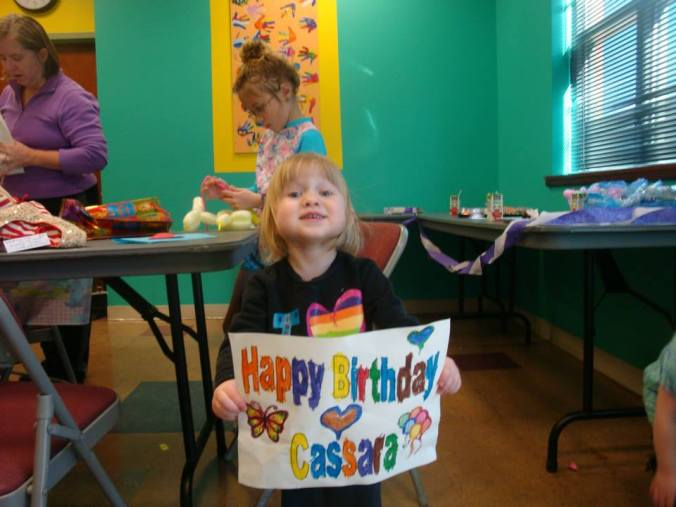 Happy 3rd Birthday, Cassara Jade!